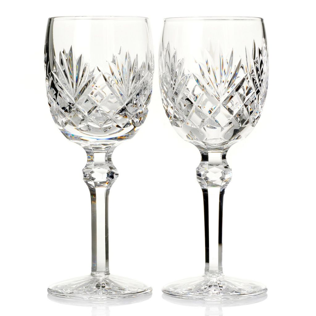 439-057 - Waterford® Crystal Tinsley Set of Two 6 oz Red Wine Glasses