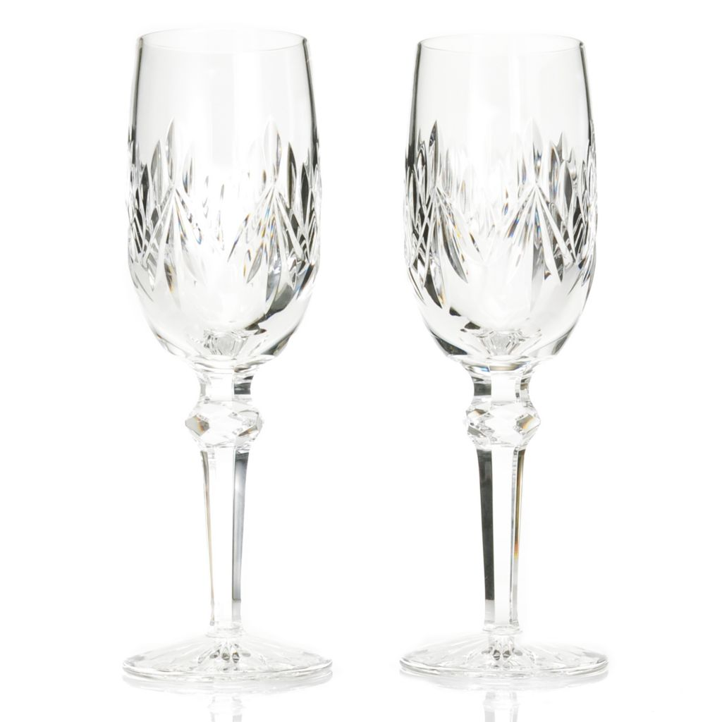 439-058 - Waterford® Crystal Kimberly Set of Two 6 oz Flutes