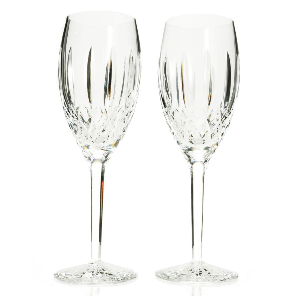 439-060 - Waterford® Crystal Langley Set of Two 9 oz White Wine Glasses