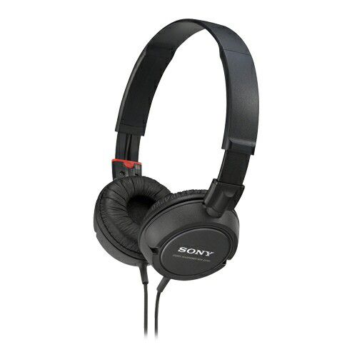 439-085 - Sony® MDRZX100/BLK 30mm Outdoor Headphones