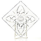 "439-122 - Marquis by Waterford® Newberry 7.75"" Crystal Square Tray"