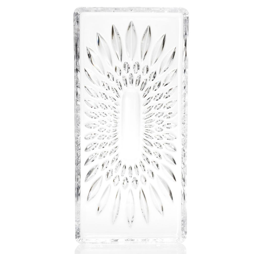 "439-125 - Marquis® by Waterford® Brennan 12.5"" Crystal Tray"