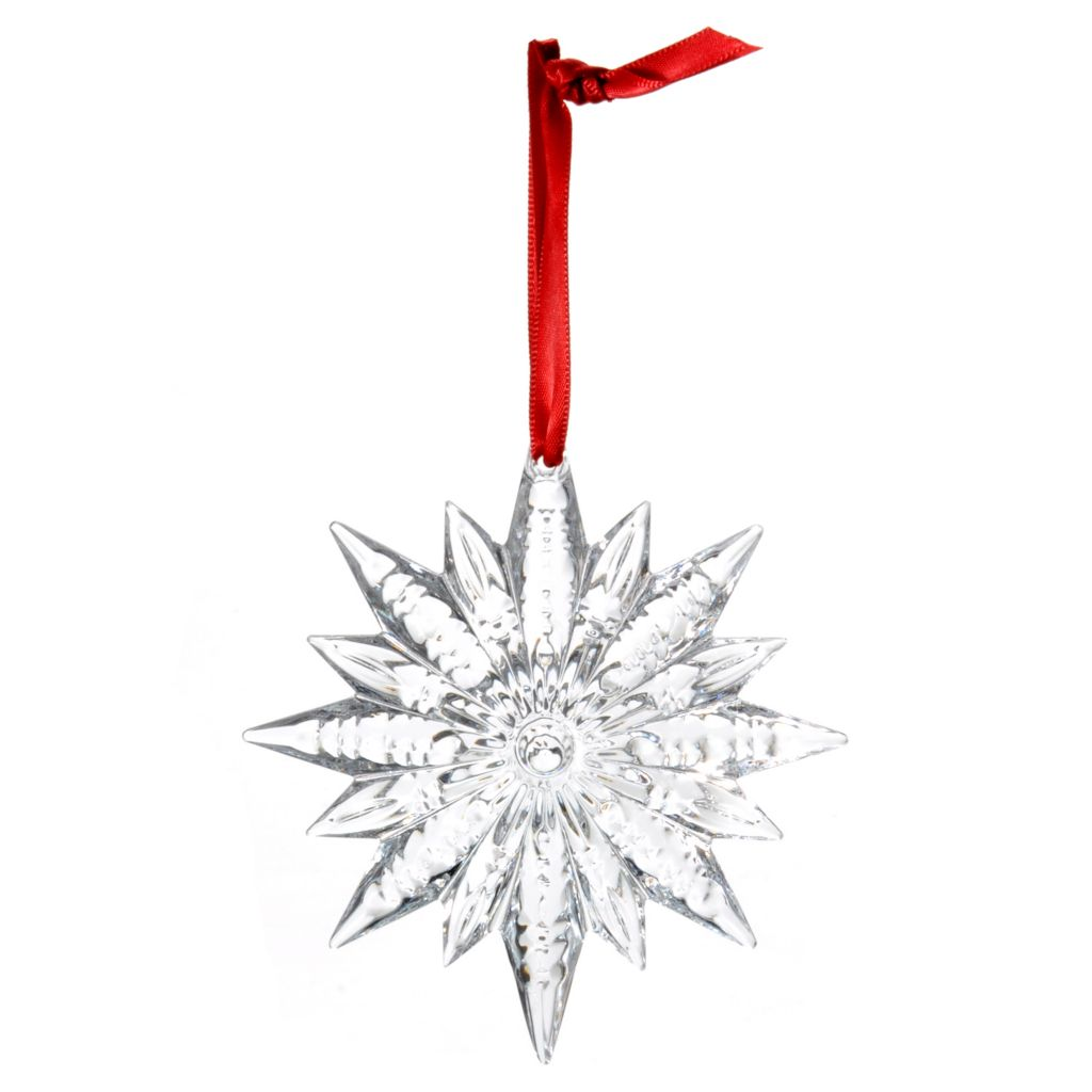 "439-138 - Waterford® Crystal Snowstar 4.25"" Ornament"