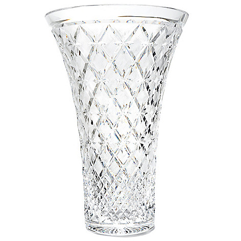 439-247 - House of Waterford® Lace 14'' Crystal Vase