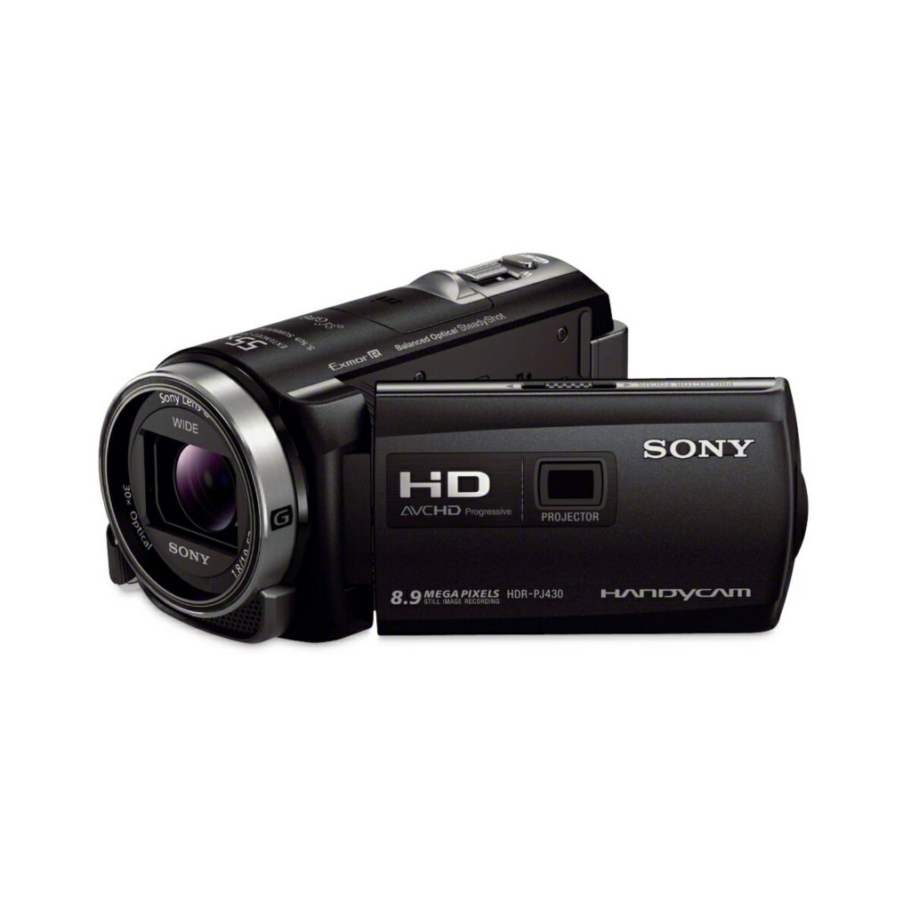 439-322 - Sony Handycam 32GB Full HD CMOS Camcorder w/ Projector