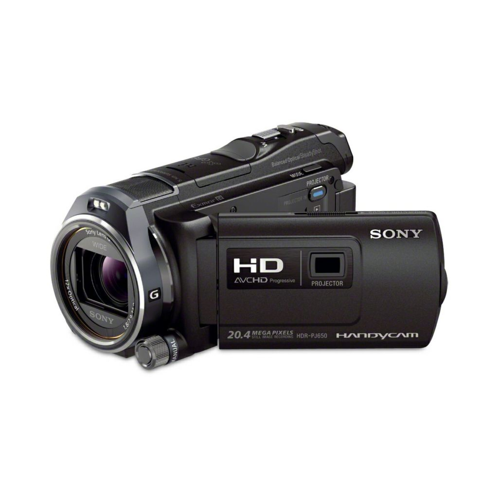 439-323 - Sony® Handycam 32GB Full HD CMOSCamcorder w/ Projector