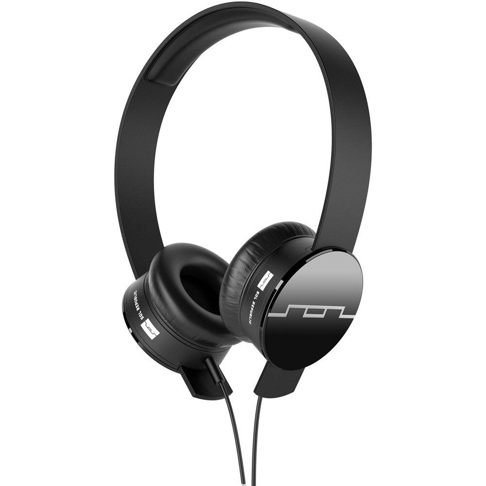 439-409 - SOL REPUBLIC® Tracks On-Ear Headphones w/ 3 Button Remote & Microphone
