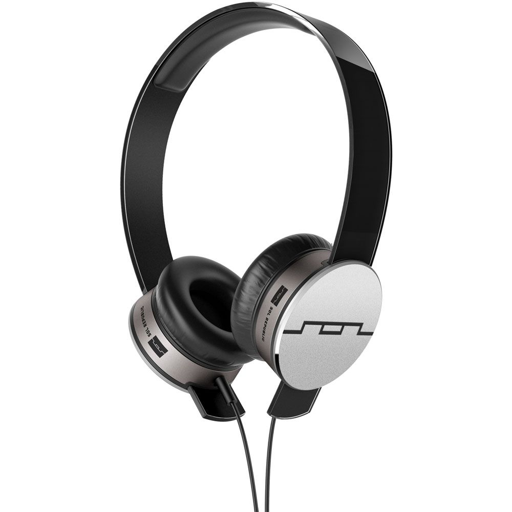 439-410 - SOL REPUBLIC® Tracks HD On-Ear Headphones w/ 3 Button Remote & Microphone