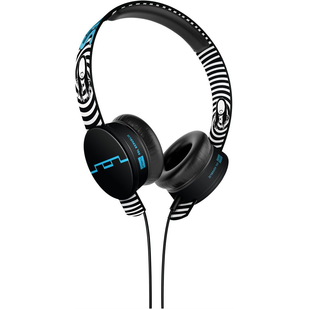 439-413 - SOL REPUBLIC® Steve Aoki Tracks HD On-Ear Headphones