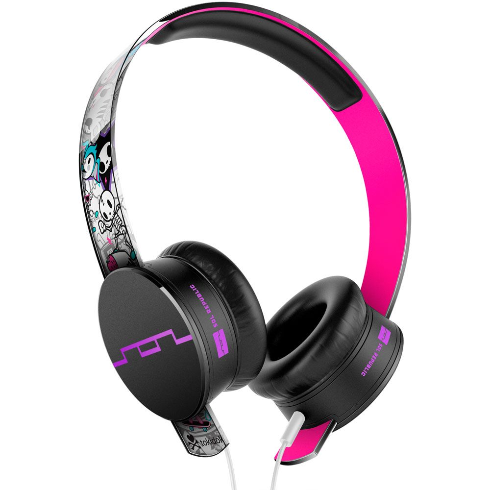 439-415 - SOL REPUBLIC® Tokidoki Tracks HD On-Ear Headphones