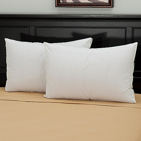 439-574 - Cozelle® 220TC Cotton Medium Density Pillow Pair