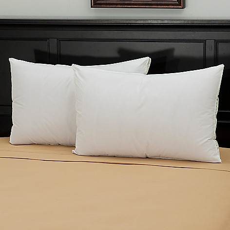 439-575 - Cozelle® 220TC Cotton Firm Density Pillow Pair