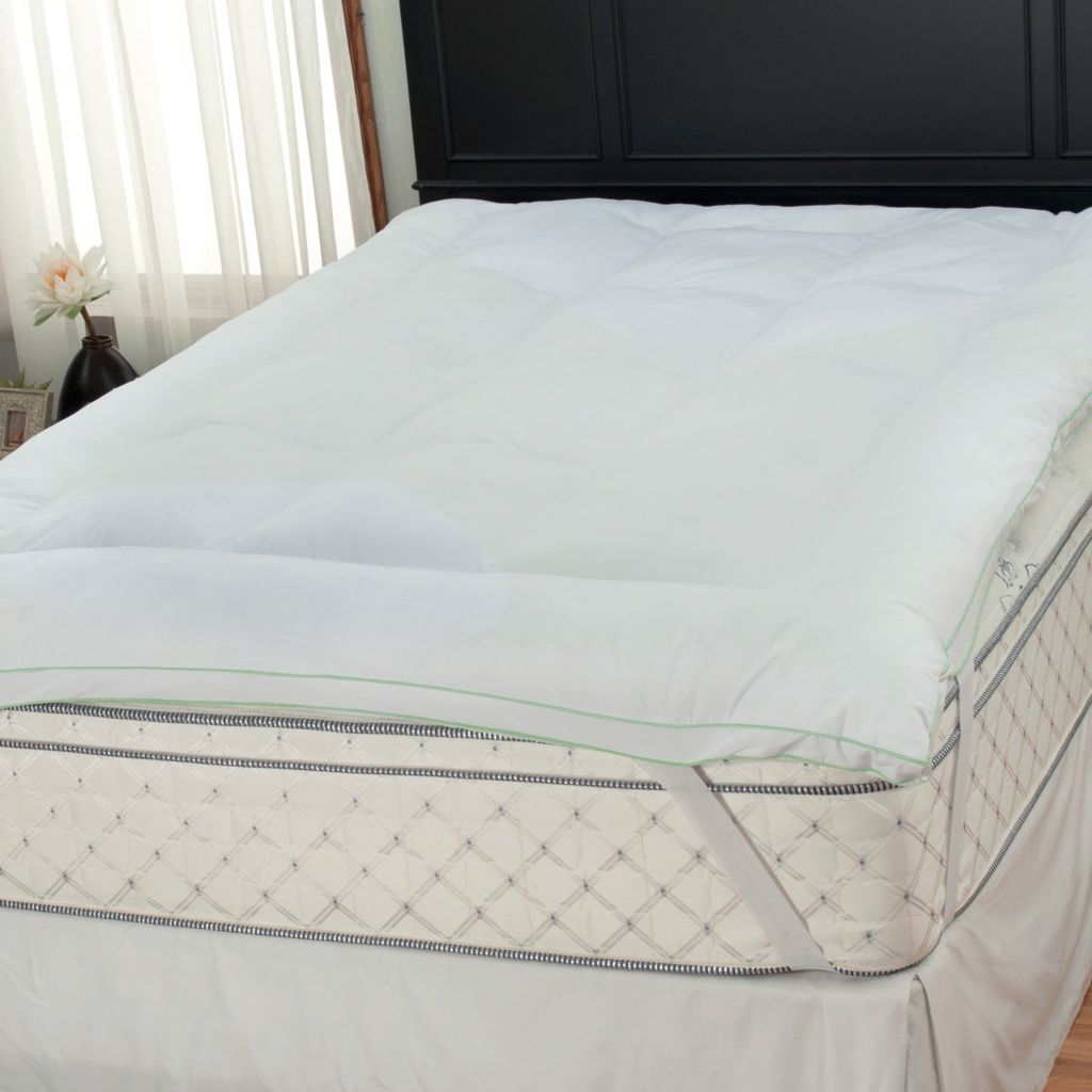 "439-577 - Cozelle® 3"" Gusseted 220TC Nano-Tex® & Sofloft® Mattress Topper"