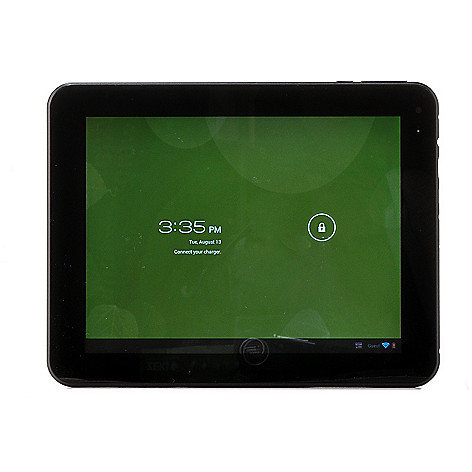 439-595 - Zeki 8'' LCD Android™ 4.0 8GB Storage Wi-Fi Tablet w/ App Pack