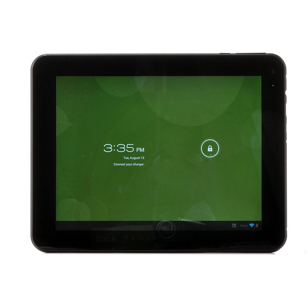 "439-595 - Zeki 8"" LCD Android™ 4.0 8GB Storage Wi-Fi Tablet w/ App Pack"