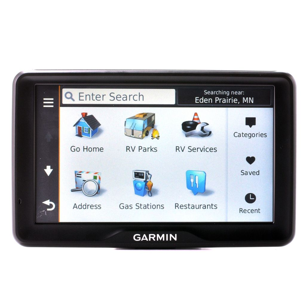 "439-646 - Garmin 7"" RV LMT Bluetooth® GPS w/ RV Travel Related Tools & Suction Cup Mount"