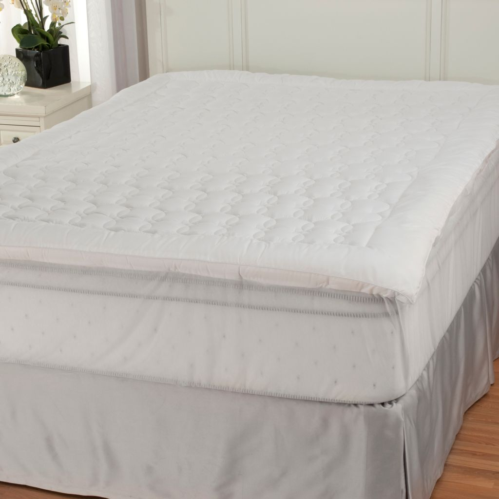 "439-664 - Cozelle® Stitched Stain & Water Resistant 1.5"" Gusseted Mattress Pad"