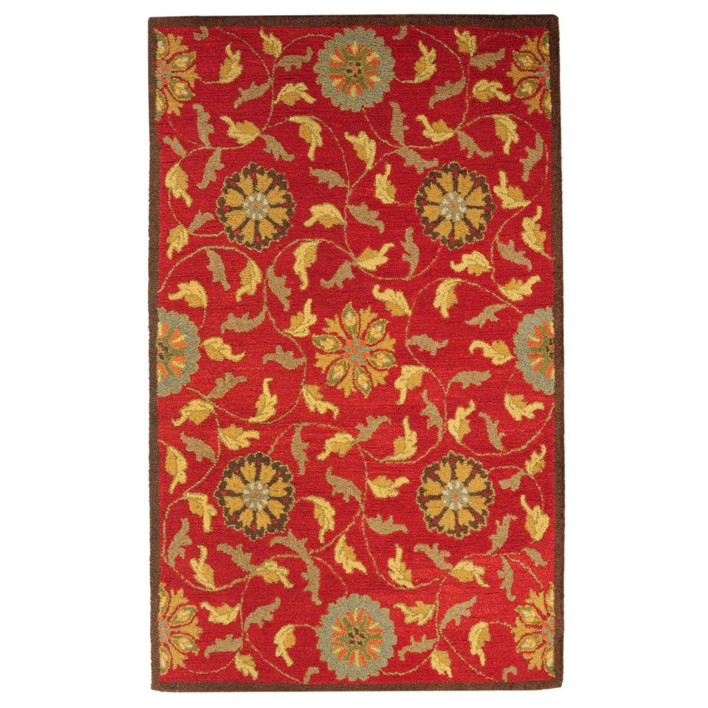 439-719 - Bashian Rugs Moghul Garden Panel Hand-Tufted 100% Wool Rug
