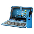 "439-720 - D2 Pad™ 9"" Google Certified Wi-Fi Tablet w/ Keyboard Case & 4400mAh Portable Charger"