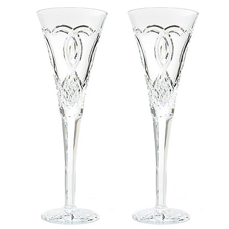 439-732 - Waterford® Crystal Set of Two 7 oz Wedding Flutes