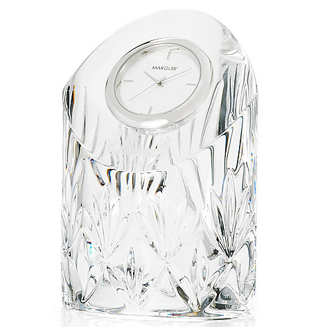 439-739 - Marquis® by Waterford® Caprice 4.75'' Crystal Clock