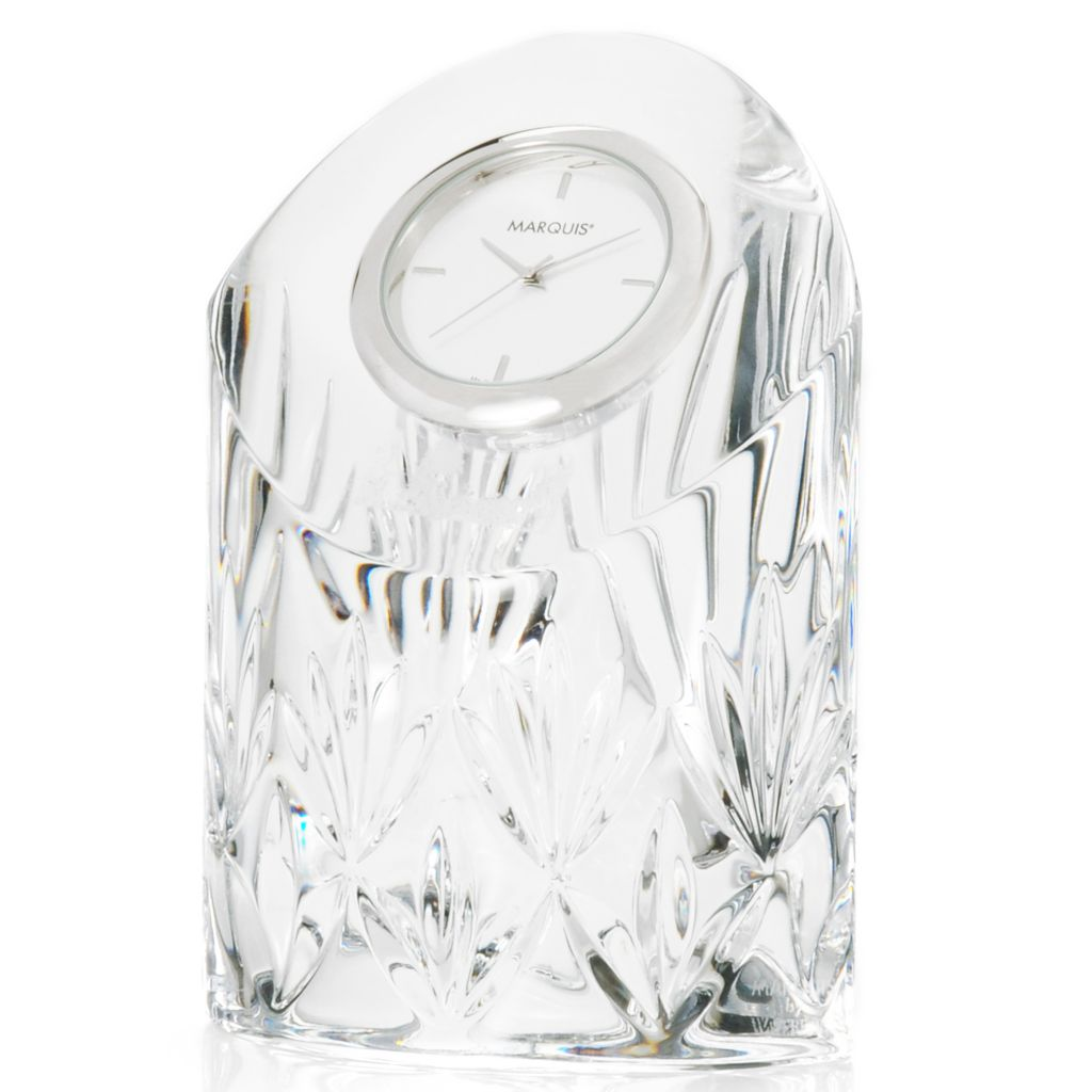 "439-739 - Marquis® by Waterford® Caprice 4.75"" Crystal Clock"