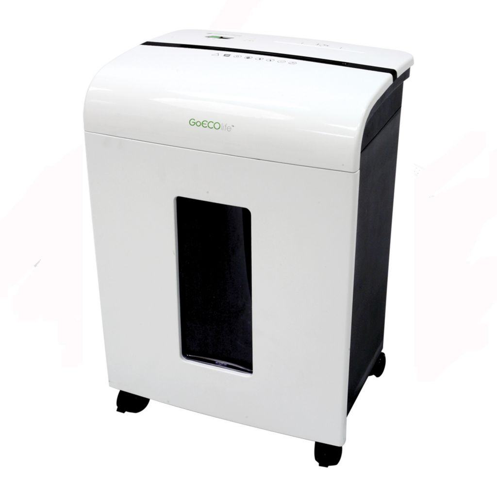 439-780 - GoECOlife 10-Sheet Micro-Cut Document Shredder