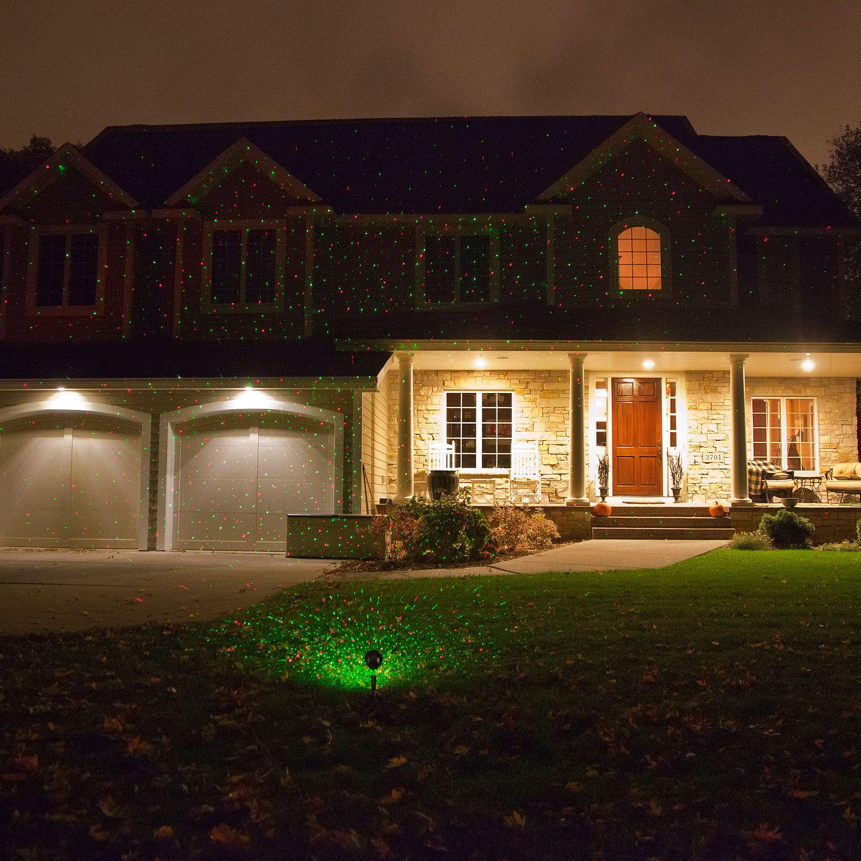 ELF Light Indoor Outdoor Red & Green Laser Light Projector