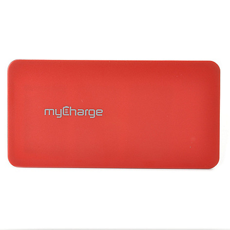 439-802 - myCharge® 8000mAh Portable Battery Charger w/ Two Built-in USB Ports