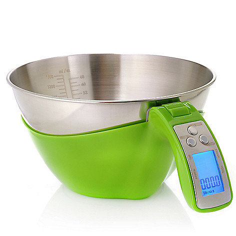 439-804 - Kalorik® 1.5 qt Electric Kitchen Scale w/ Detachable Bowl