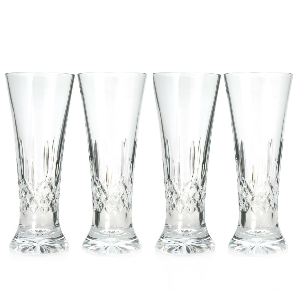439-882 - Waterford® Crystal Lismore Pilsner Set of Four 14 oz Glasses