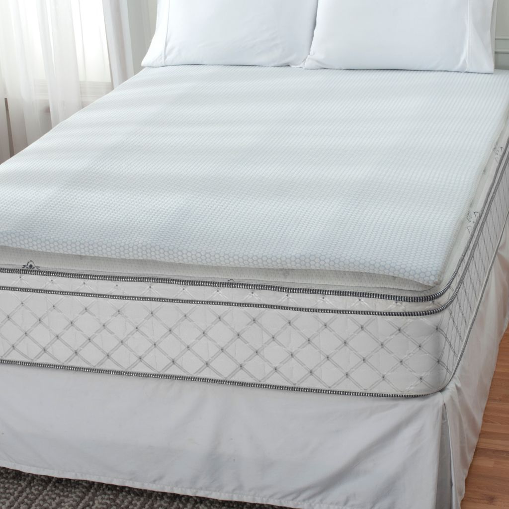 "439-919 - SensorPEDIC® 1.5"" Gel Infused Memory Foam Bed Topper"
