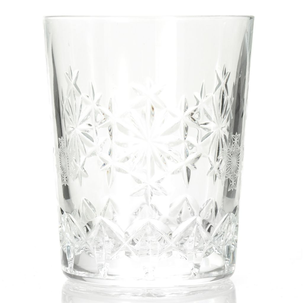 439-936 - Waterford® Crystal Snowflake Wishes Goodwill Kerry 10 oz Double Old Fashioned Glass