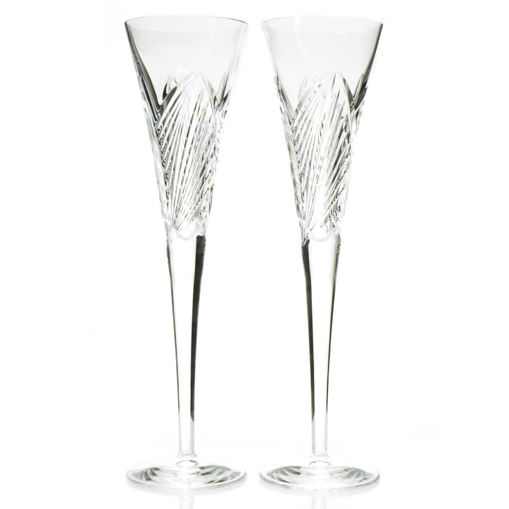 439-944 - Waterford® Crystal Times Square Set of Two 5 oz Flutes