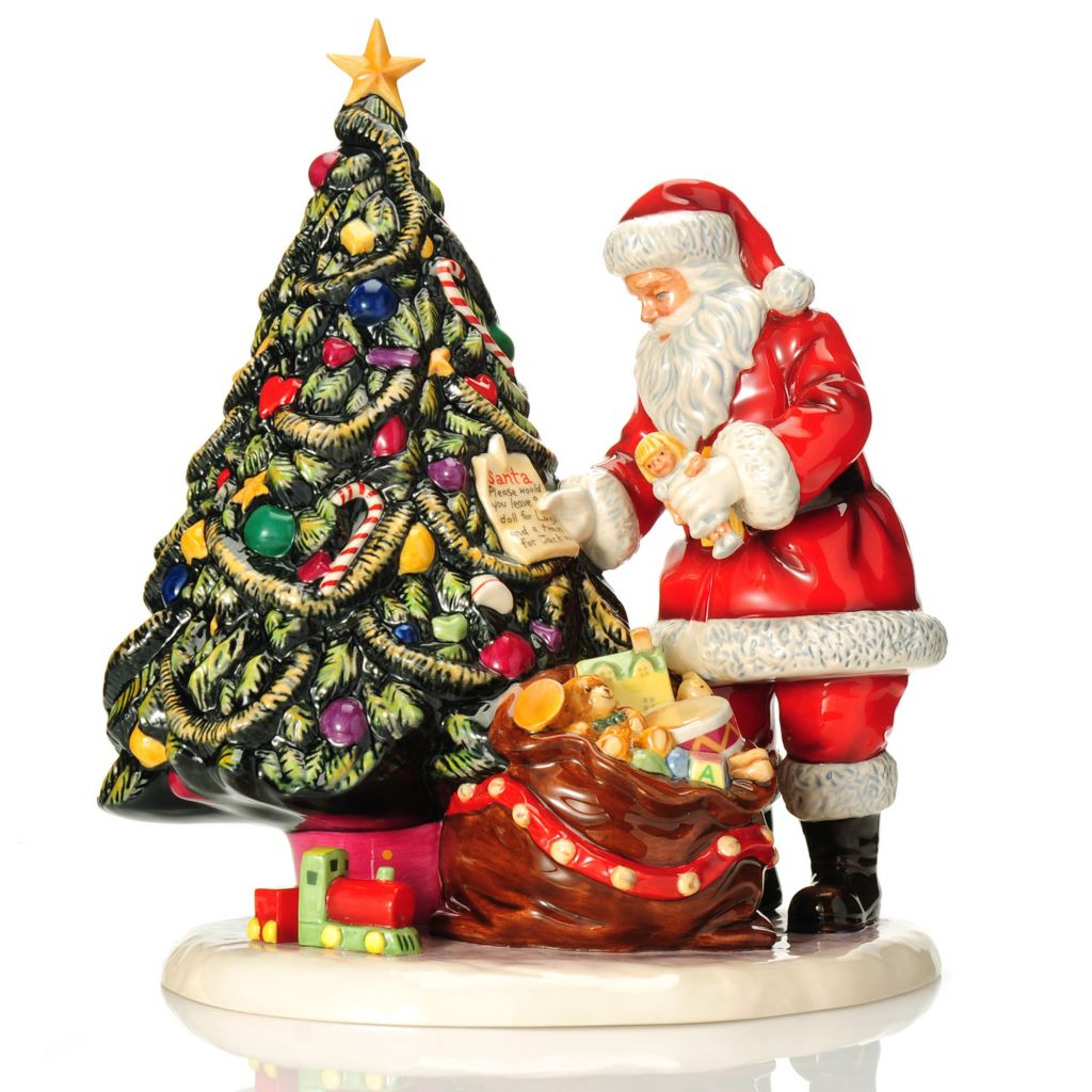 "439-952 - Royal Doulton® Letters to Santa 12"" Earthenware Figurine- Signed by Michael Doulton"