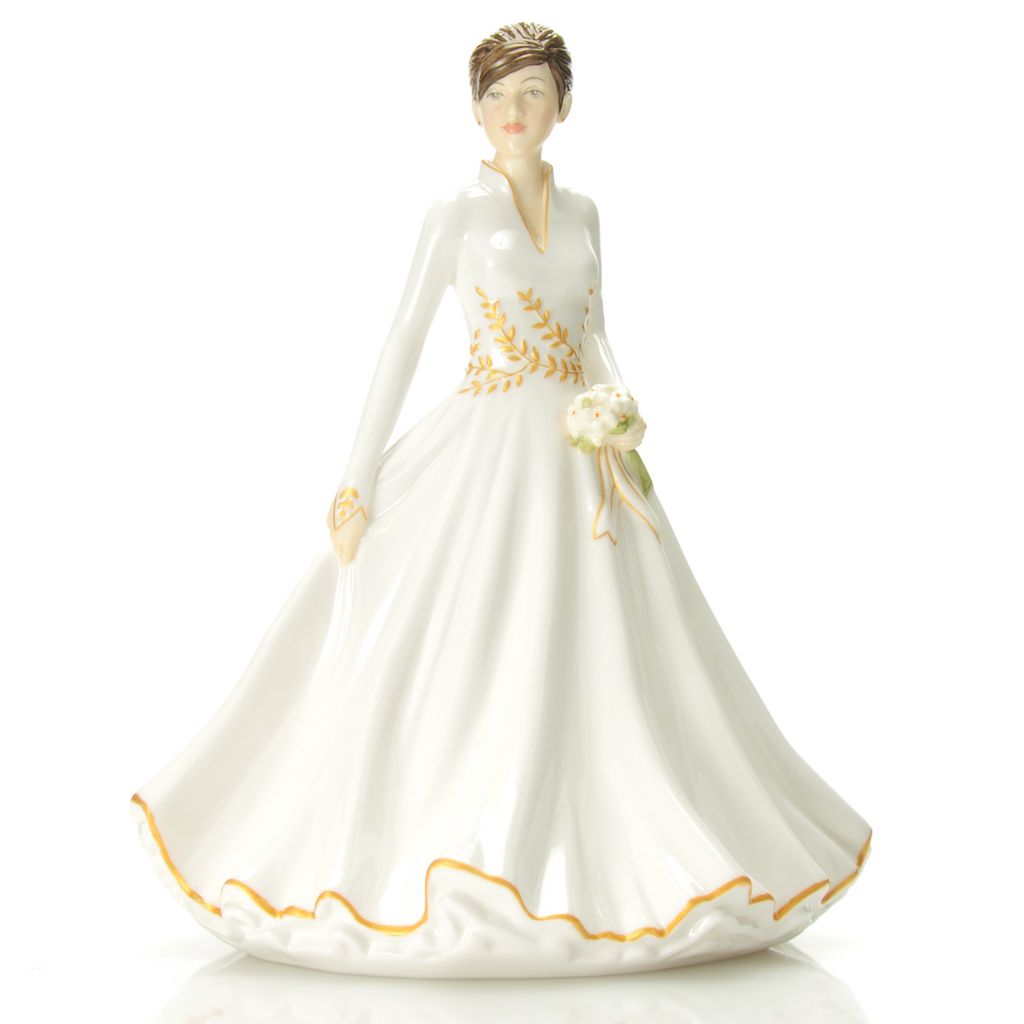 "439-954 - Royal Doulton® Winter Wonderland 7"" Bone China Figurine"