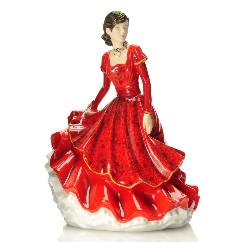 "439-955 - Royal Doulton® Joy to the World 6.75"" Hand-Decorated Bone China Figurine"