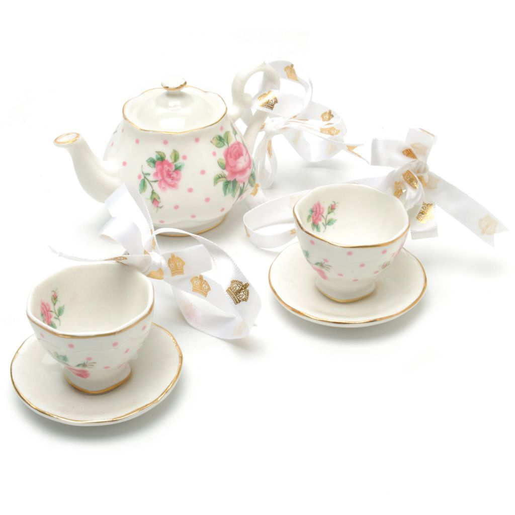 439-958 - Royal Albert® New Country Roses Set of Three Bone China Ornaments