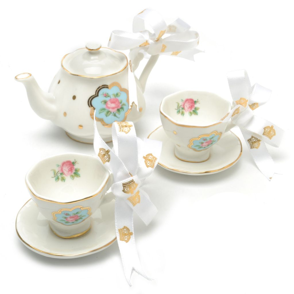 439-959 - Royal Albert® New Country Roses Set of Three Bone China Ornaments