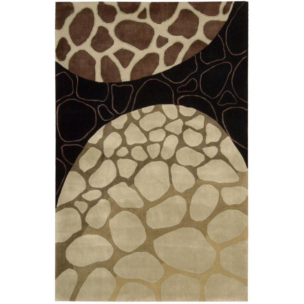 440-022 - Nourison Dimension Circular Shapes Rug