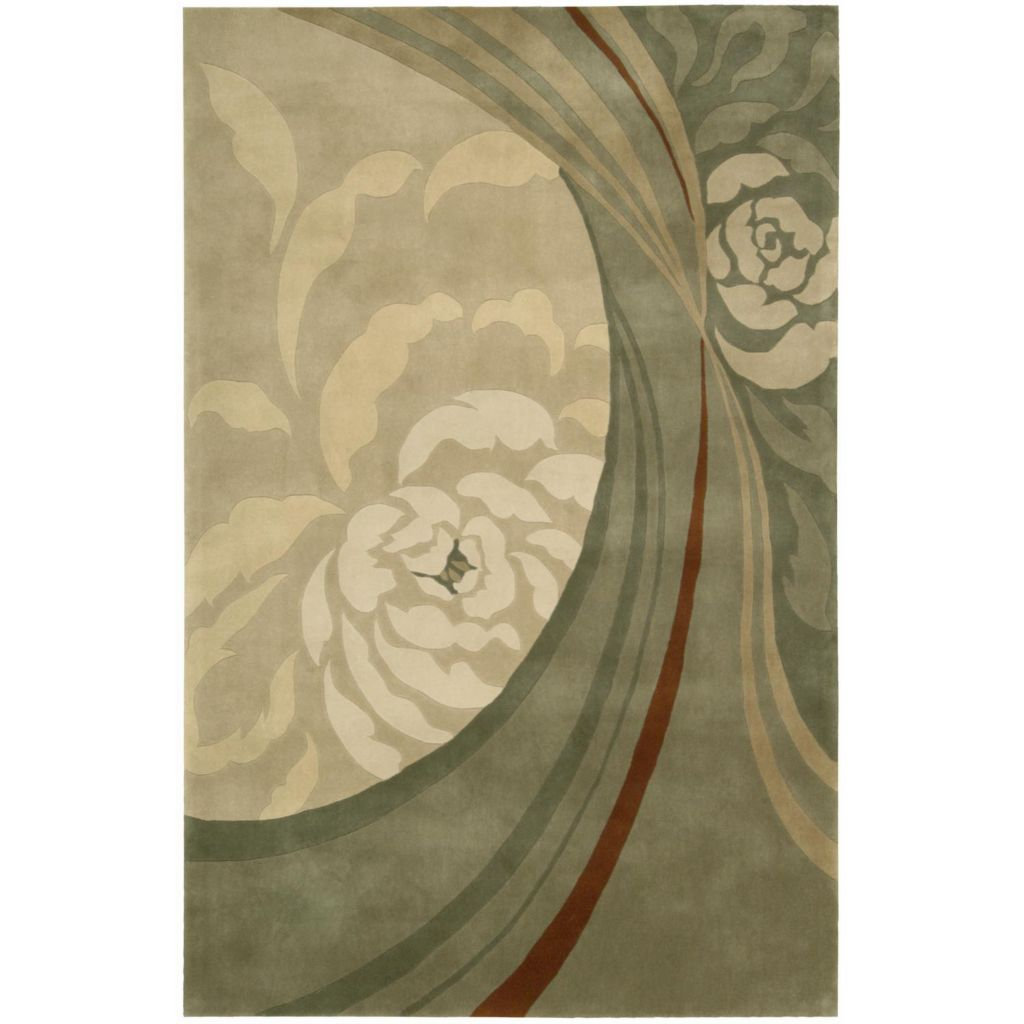 440-023 - Nourison Abstract Design 100% Wool Rug