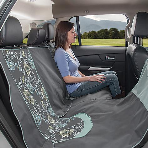 440-034 - Kurgo® Floral Car Seat Pet Hammock w/ Carrying Case