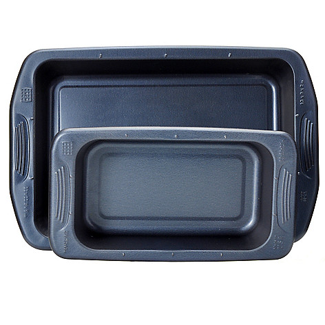 440-046 - Cook's Companion™ Two-Piece Color Nonstick Roast & Loaf Pan Set