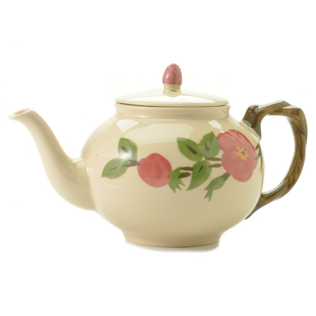440-171 - Franciscan® Desert Rose Earthenware 5-Cup Teapot