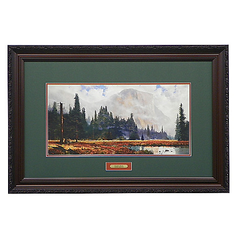 440-276 - Thomas Kinkade ''Yosemite Meadows'' Limited Edition Framed Print