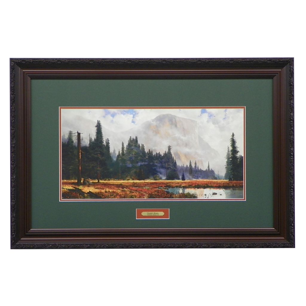 "440-276 - Thomas Kinkade ""Yosemite Meadows"" Limited Edition Framed Print"