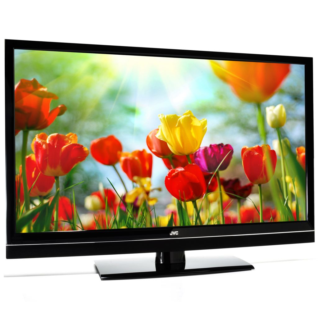 "440-280 - JVC 42"" Full HD 1080p 120Hz Ultra-Thin Edge-Lit LED HDTV w/ Two HDMI Ports"
