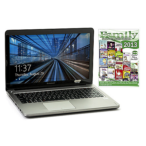 440-344 - Lenovo 15.6'' LED Intel® Core i5 8GB RAM/750GB HD Ultrabook & Software