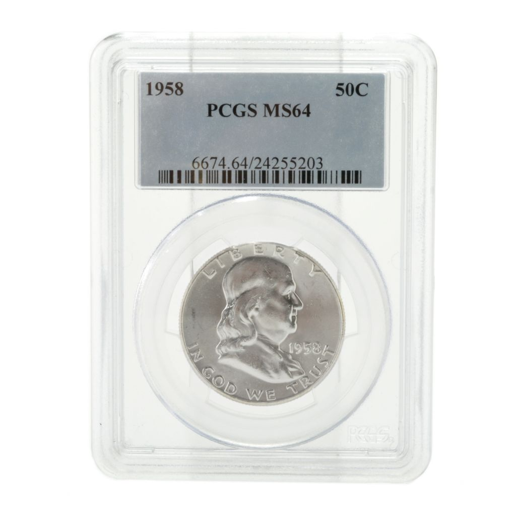 440-353 - 1958 Silver Franklin MS64 PCGS (P) Coin