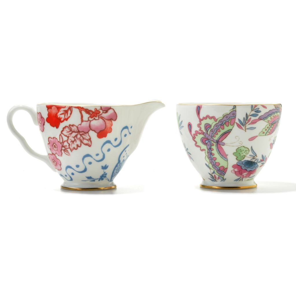 "440-409 - Wedgwood® Two-Piece 2.5"" Bone China Creamer & Sugar Set"